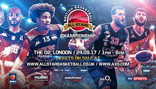 Discounted tickets now available for British Basketball All-Stars Championship