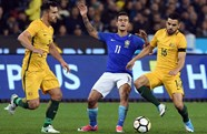 Wright's Australia beaten by Brazil