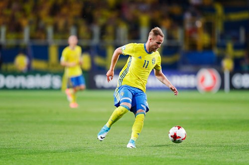 Engvall scores for Sweden Under-21s