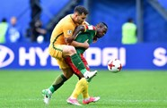 Socceroos up and running