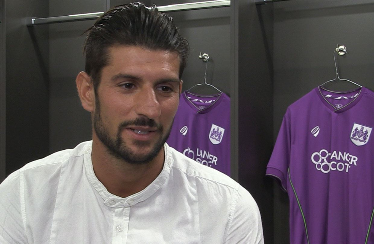 Video: Eros Pisano - The First Interview thumbnail