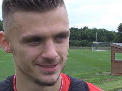 Video: Jamie Paterson - First Day Back