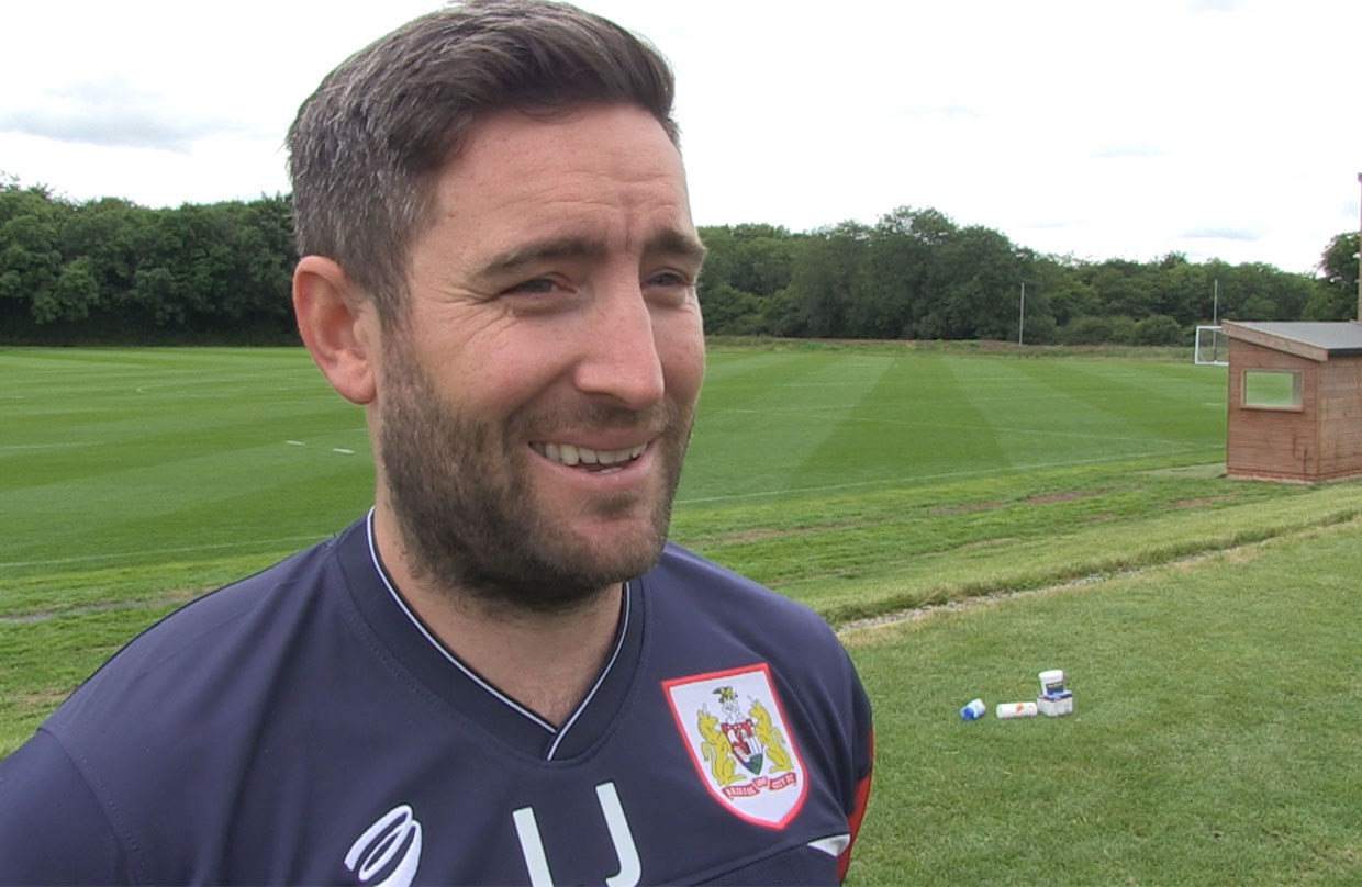 Lee Johnson First Day Back thumbnail