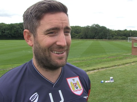 Lee Johnson - First Day Back