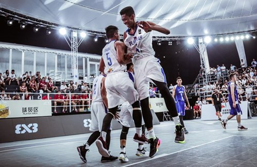 Edu makes history at FIBA 3x3 Under-18 World Cup