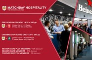 Hospitality available for Plymouth cup tie