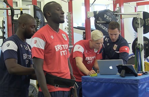 Video: Famara Diedhiou's first training session