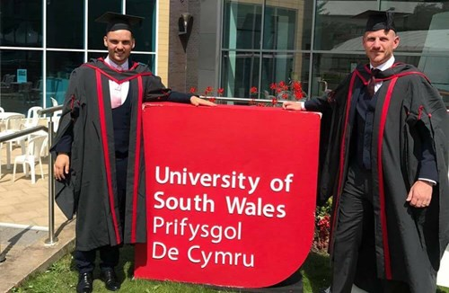 Trust's students graduate from USW