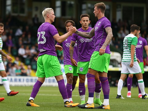 Yeovil Town away Highlights