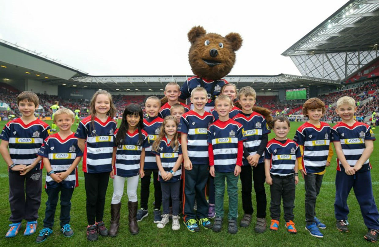 Matchday Mascot Packages Available For 201718 Season Bristol Bears