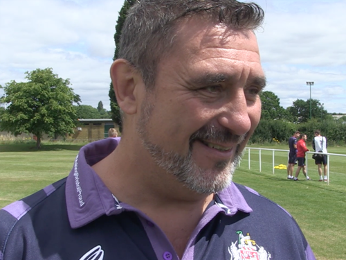 Video: De Scossa visits Bristol Rugby training ground