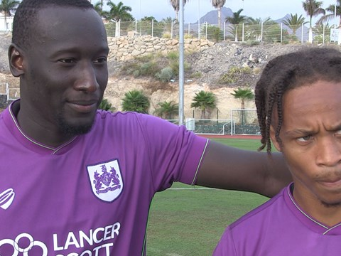 Tenerife Tour: Famara Diedhuou & Bobby Reid exclusive interviews