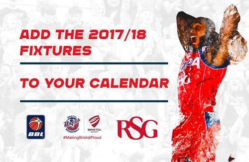 Sync Bristol Flyers' 2017/18 fixtures to to your calendar