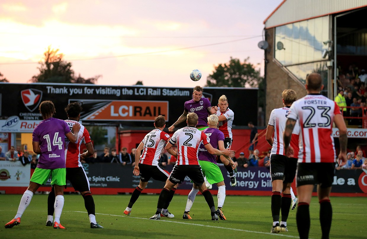 Highlights: Cheltenham Town 0-3 Bristol City thumbnail
