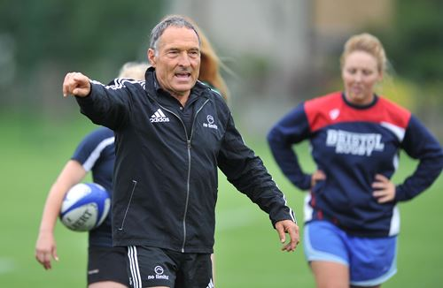 Bristol Ladies Rugby training camp welcomes kicking coach, Dave Alred MBE