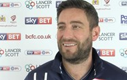 Video: Lee Johnson Pre-Birmingham City away