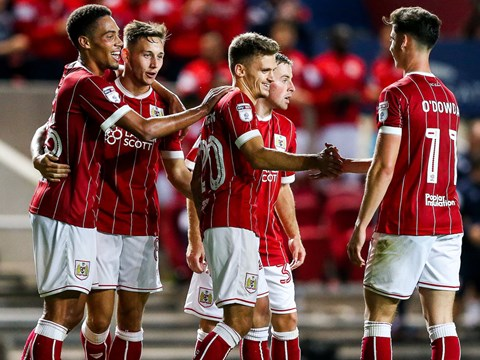 Goals: Bristol City 5-0 Plymouth Argyle