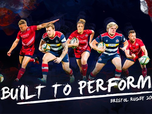 Bristol Rugby reveal home and away kits for 2017/18 season