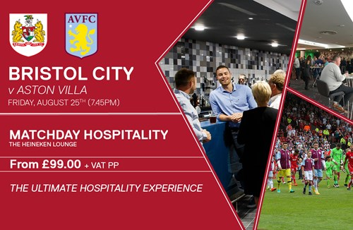 Villa VIP experience available