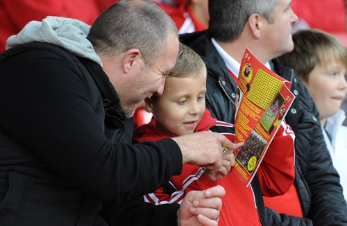 Guarantee your matchday programme