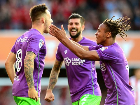 Goals: Brentford 2-2 Bristol City