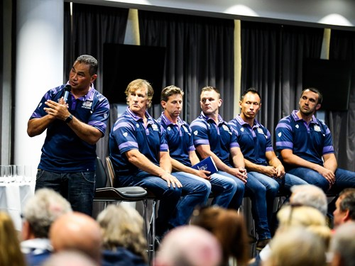Gallery: Coaches meet supporters at Q&A evening