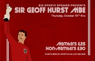 Sir Geoff Hurst MBE announced as next Big Sports Speaker