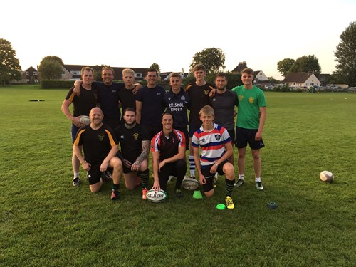 Billy Searle hosts kicking clinic at Frampton RFC