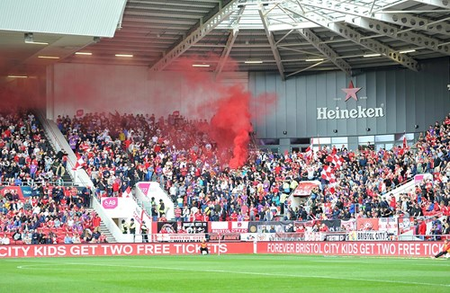 Club statement on flares/smoke bombs