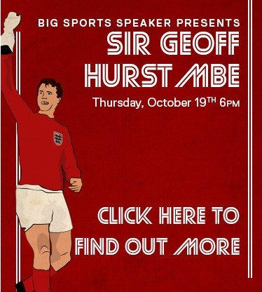 An evening with Geoff Hurst MBE