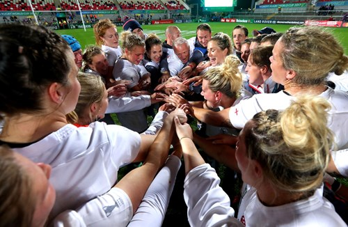 Video: good luck to the red roses in Rugby World Cup final