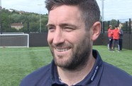 Video: Lee Johnson Pre-Aston Villa home