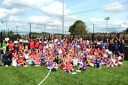 Delight for holiday camp participants
