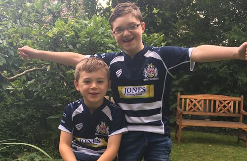 Inspirational Calum to lead teams out at Ashton Gate