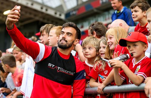 Open Training Session a huge hit