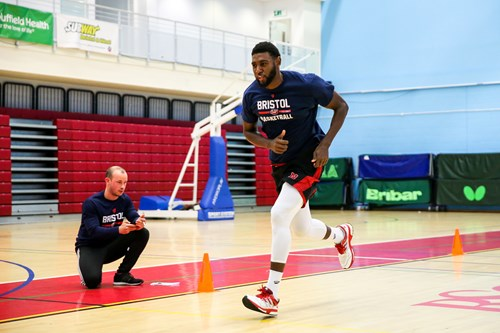Video: Bristol Flyers' first day of pre-season