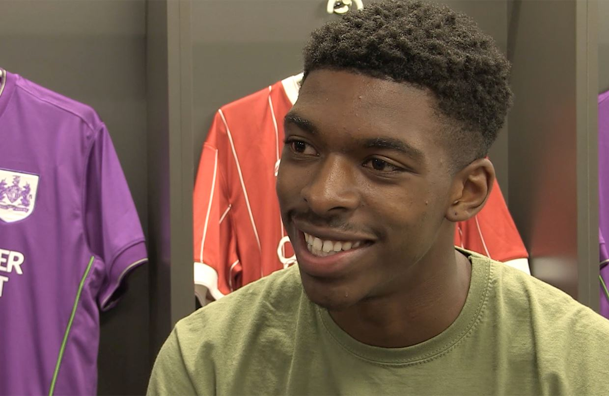 Video: Tyreeq Bakinson - The First Interview thumbnail