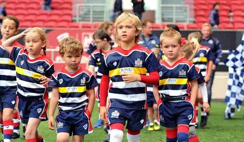 Matchday mascot packages available for Richmond clash