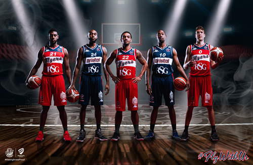 Bristol Flyers' 2017/18 home and away kits revealed