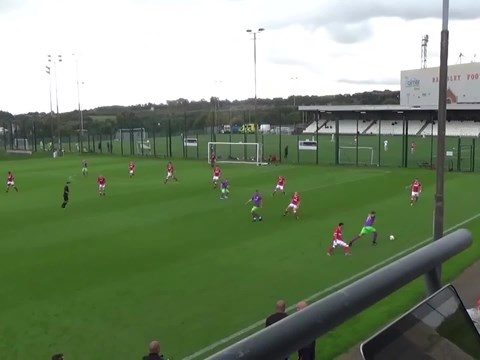 Highlights: Barnsley Under-18s 2-1 Bristol City Under-18s
