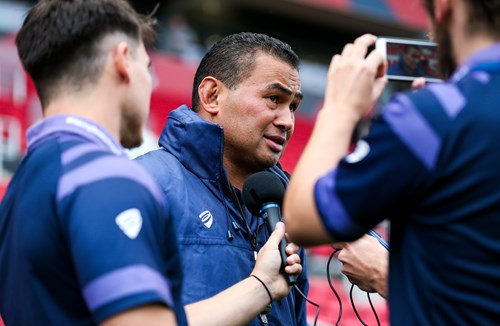 Video: Lam focused on Jersey Reds clash
