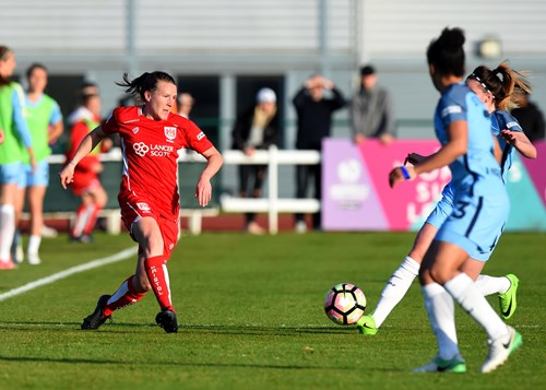 Frankie Brown signs new contract with City Women