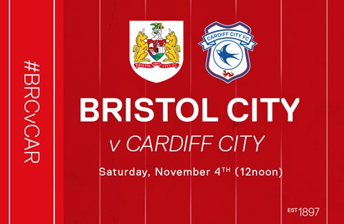Cardiff date switched back to Saturday