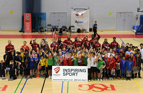 Bristol Sport Inspires Next Generation Of Basketball Players