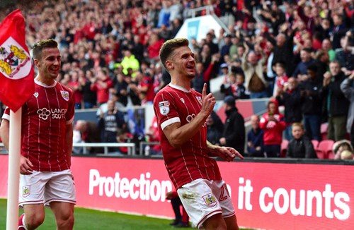 Paterson makes history at Ashton Gate