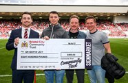 Derby County 50/50 Matchday Draw winners