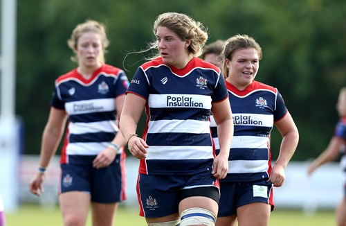 Bristol Ladies Rugby announce departure of Poppy Cleall