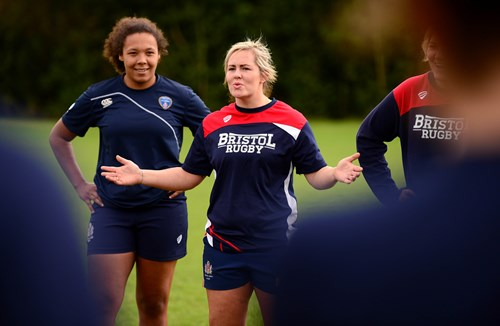 Bristol Ladies announce departure of Marlie Packer