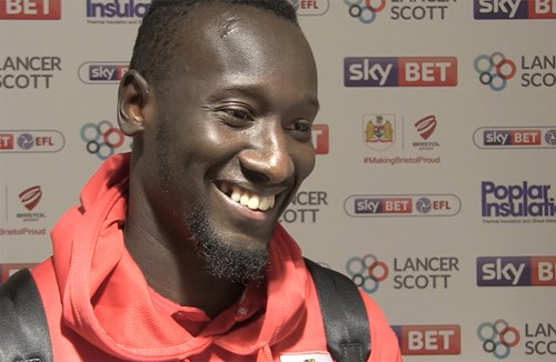 Video: Famara Diédhiou Post-Bolton Wanderers home