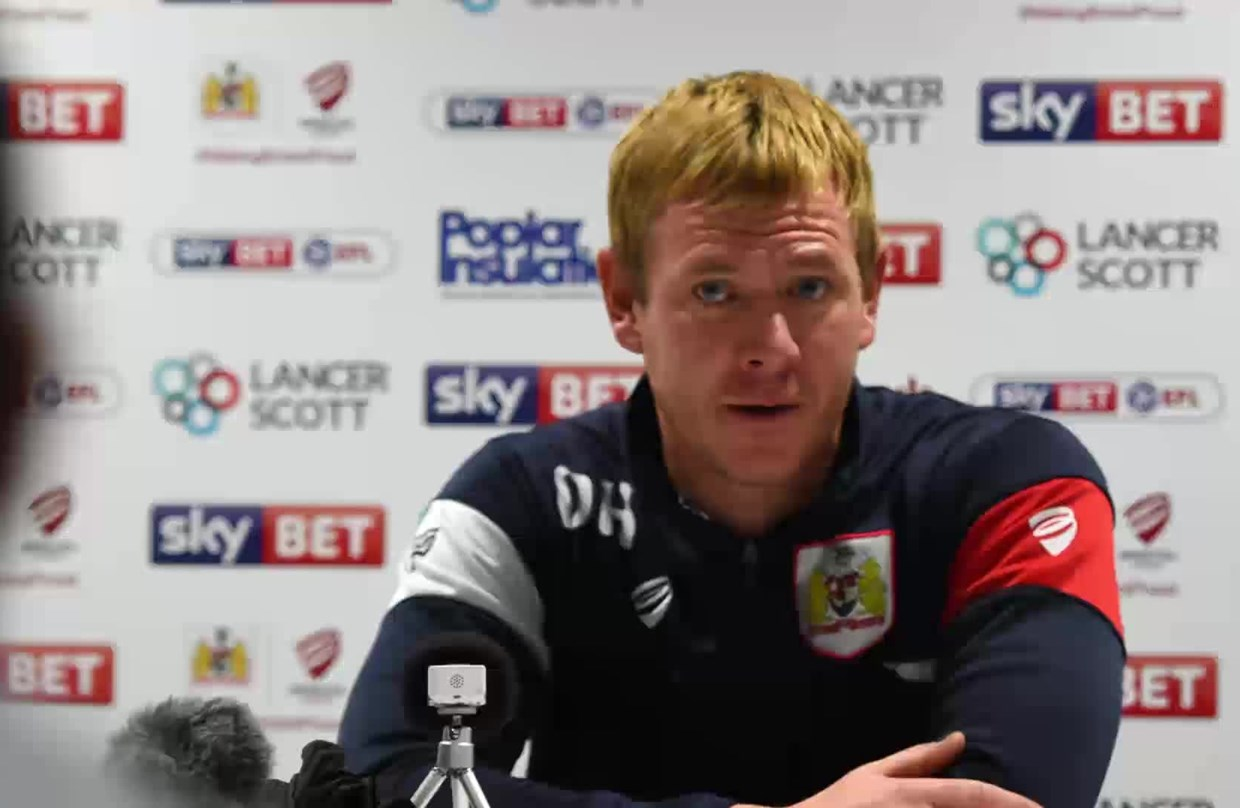 Audio: Dean Holden Post-Bolton Wanderers home press conference thumbnail